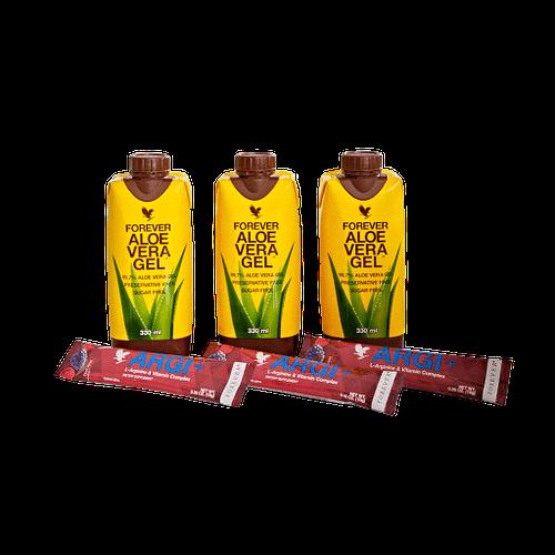 Buy Aloe Vera Gel Mini & ARGI+ Combo Pack USA