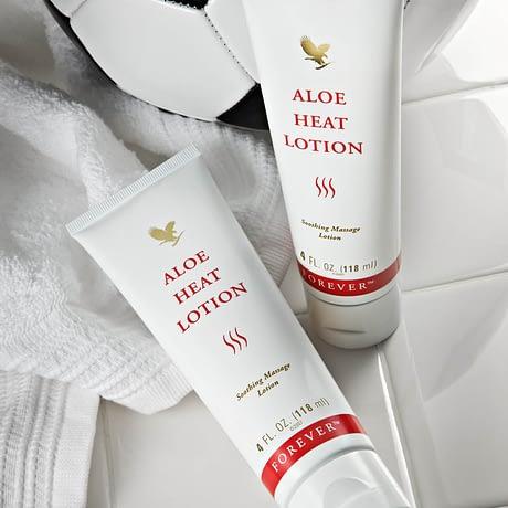 Buy Forever Aloe Heat Lotion USA