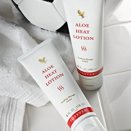Buy Forever Aloe Heat Lotion USA
